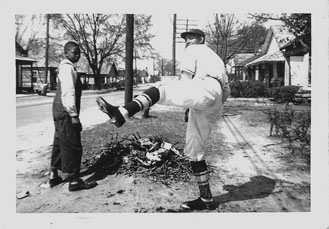 "James ""Bubba"" Johnson ~ Pitcher for the Albany Tigers, Circa 1948"