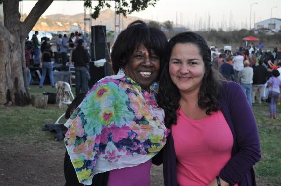 From Marin Grassroots: Board President Nancy Johnson and Exec. Dir., Ericka Erickson.