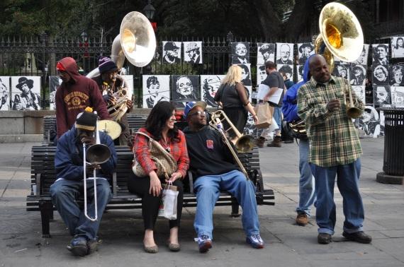 Jackson Square, January, 2015 All Photos: Anita Gail Jones
