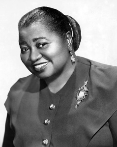 Hattie McDaniels 1st black to win an Oscar ~ Role: Mammy in Gone With the Wind, 1939