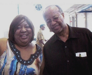 Pat Gaines with Charels Sherrod, 2011 Albany, GA