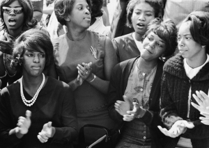 Young women at the March on Washington for Jobs & Freedom, 8.28.63